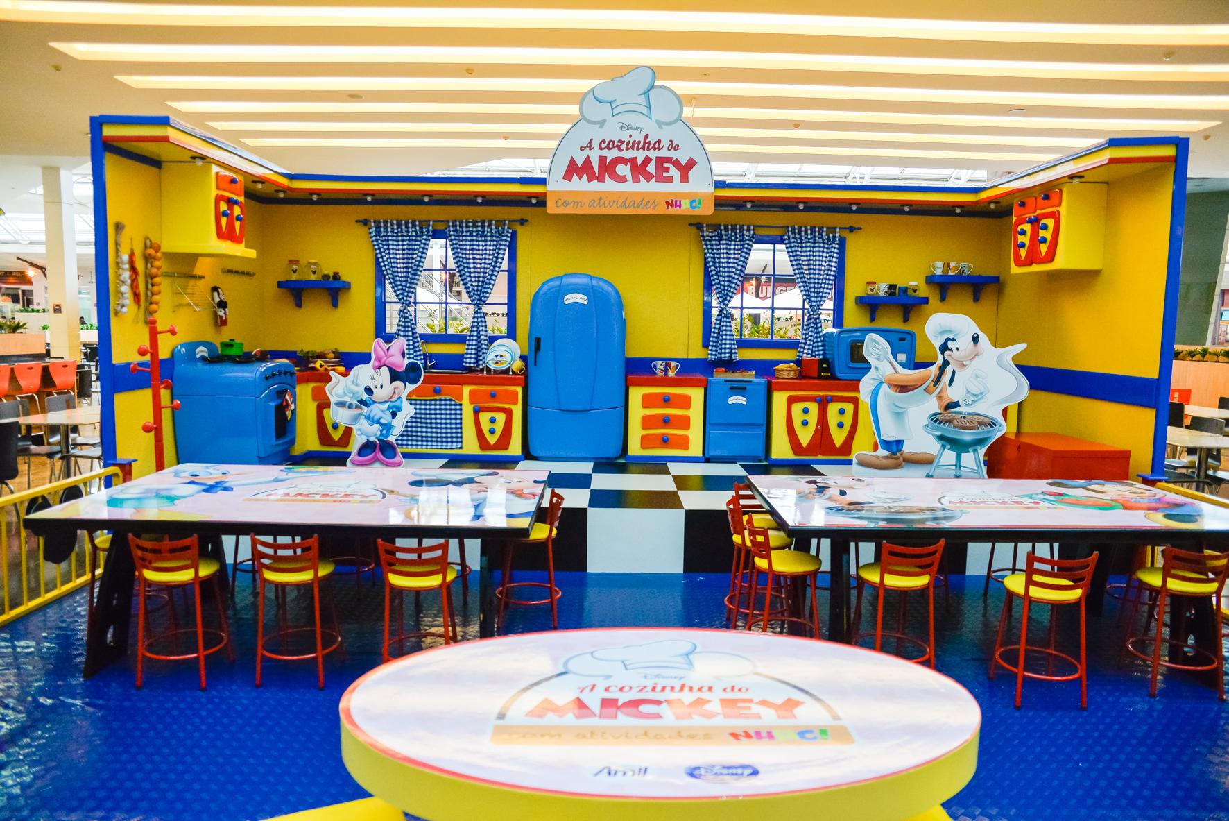 cozinha do mickey