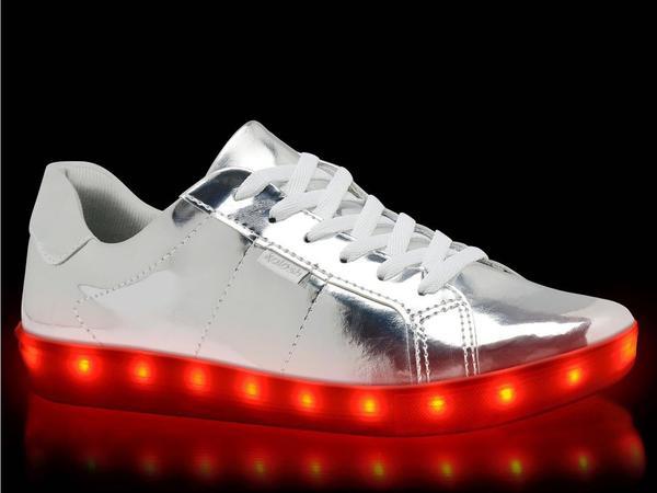 tenis com luz de led