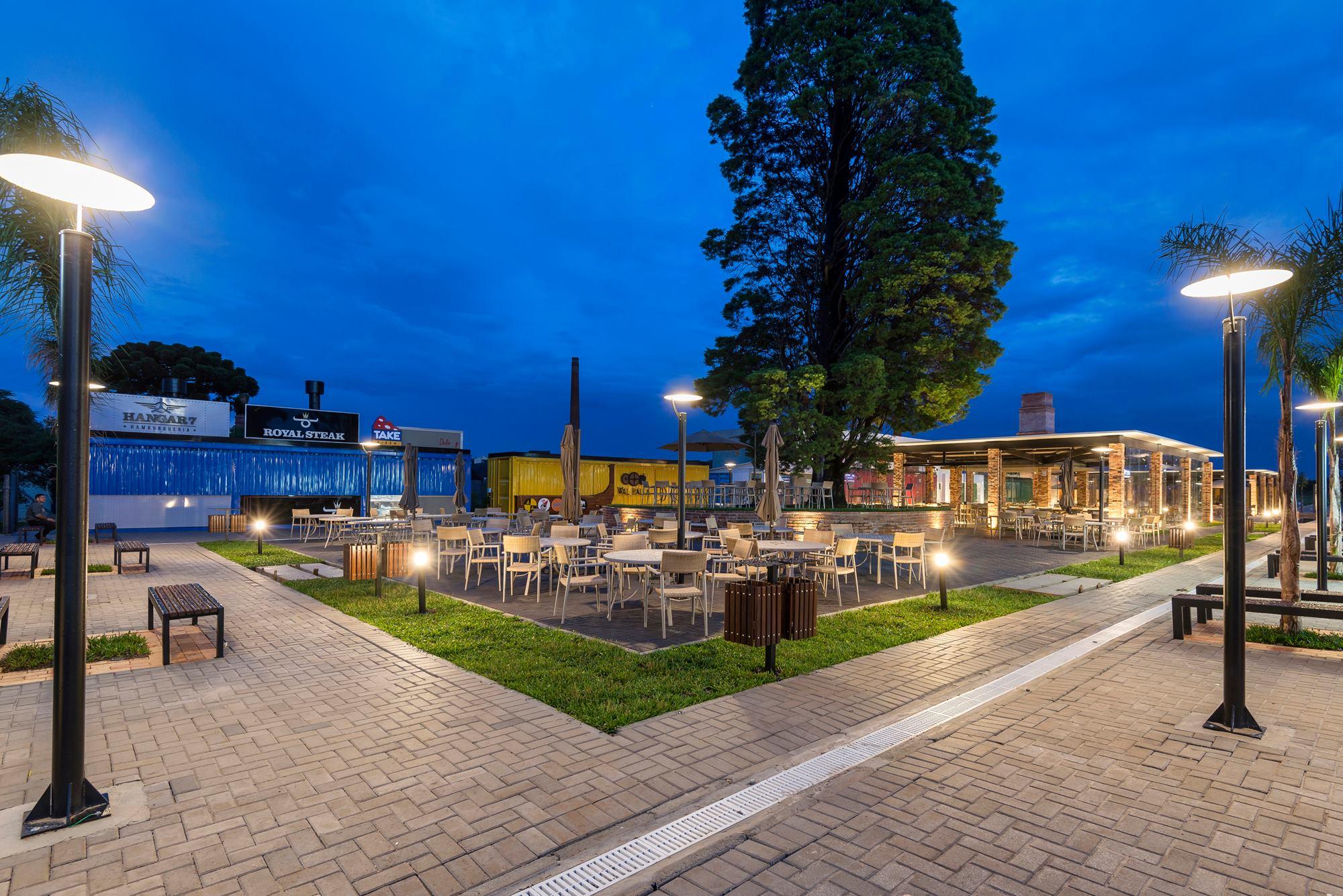 Ca'dore reúne mais de 30 bares e restaurantes no Bacacheri