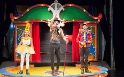 Fim de semana com espetáculos infantis gratuitos