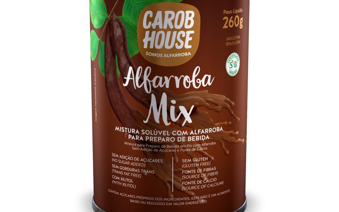Alfarroba Mix é lançamento da Carob House para preparo de bebidas