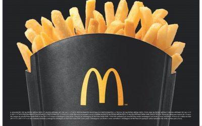 Refil de fritas nesta sexta (24) no McDonald's