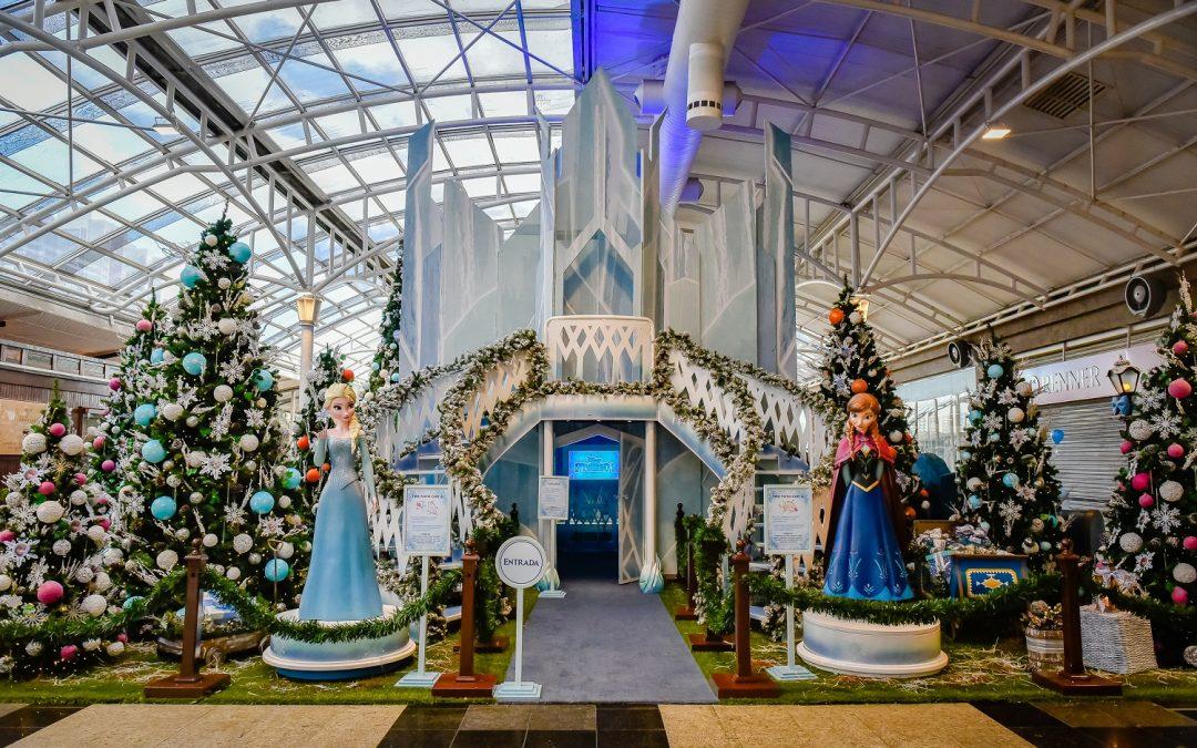 O Natal congelante Frozen, da Disney, chega ao Shopping Estação