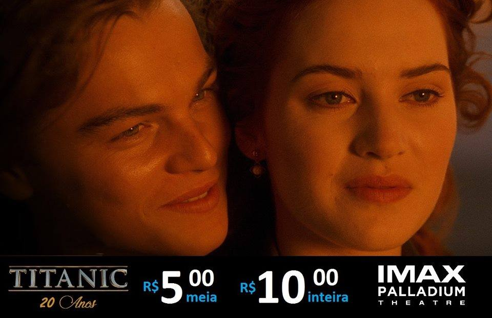 IMAX comemora os 20 anos de Titanic nesta segunda (13)