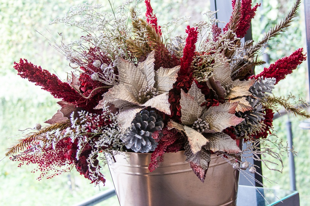 Natal de luxo e de simplicidade na decoração