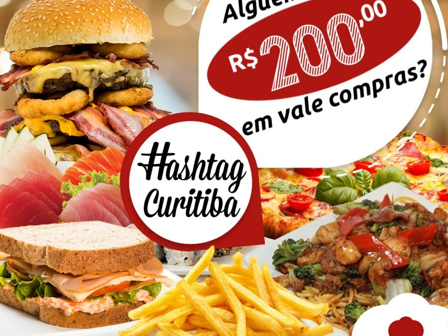SORTEIO R$ 200  EM COMPRAS NO DELIVERY MUCH