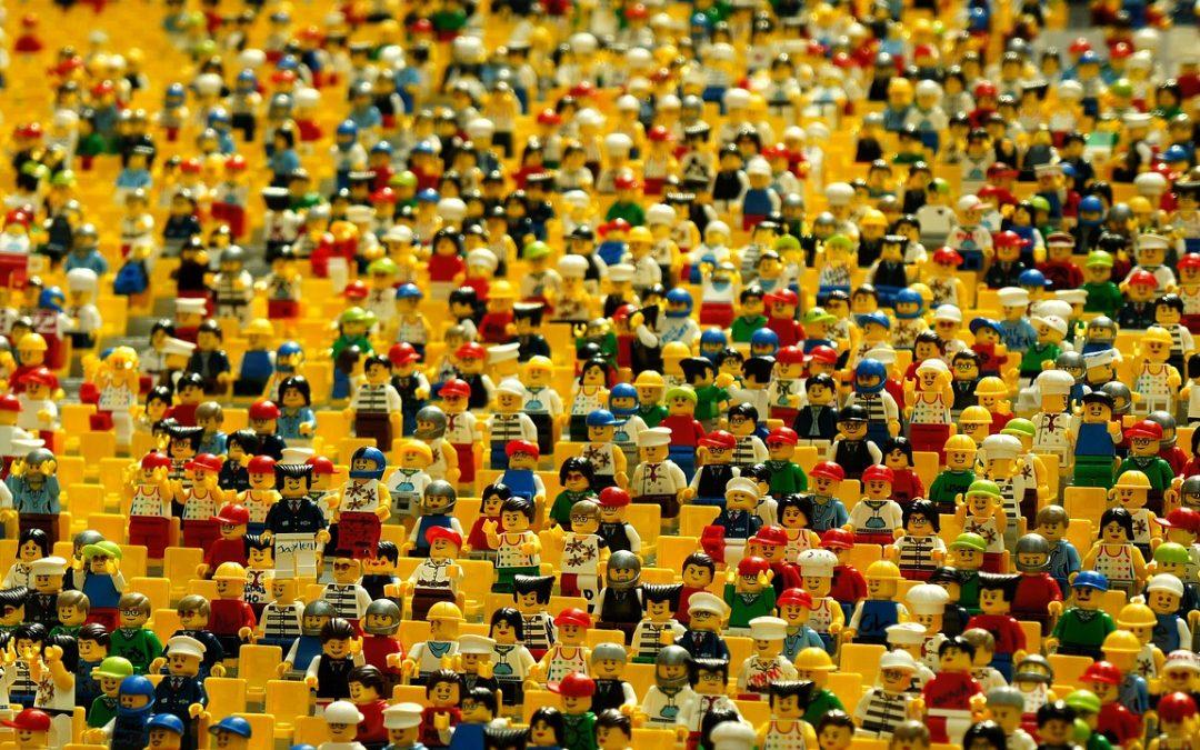 Loja LEGO® utilizará criações feitas por crianças no mês de dezembro