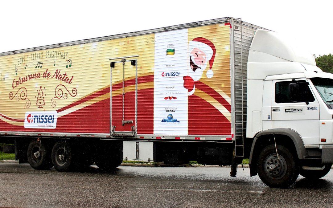 Caravana de Natal da Nissei passa por onze cidades do Paraná