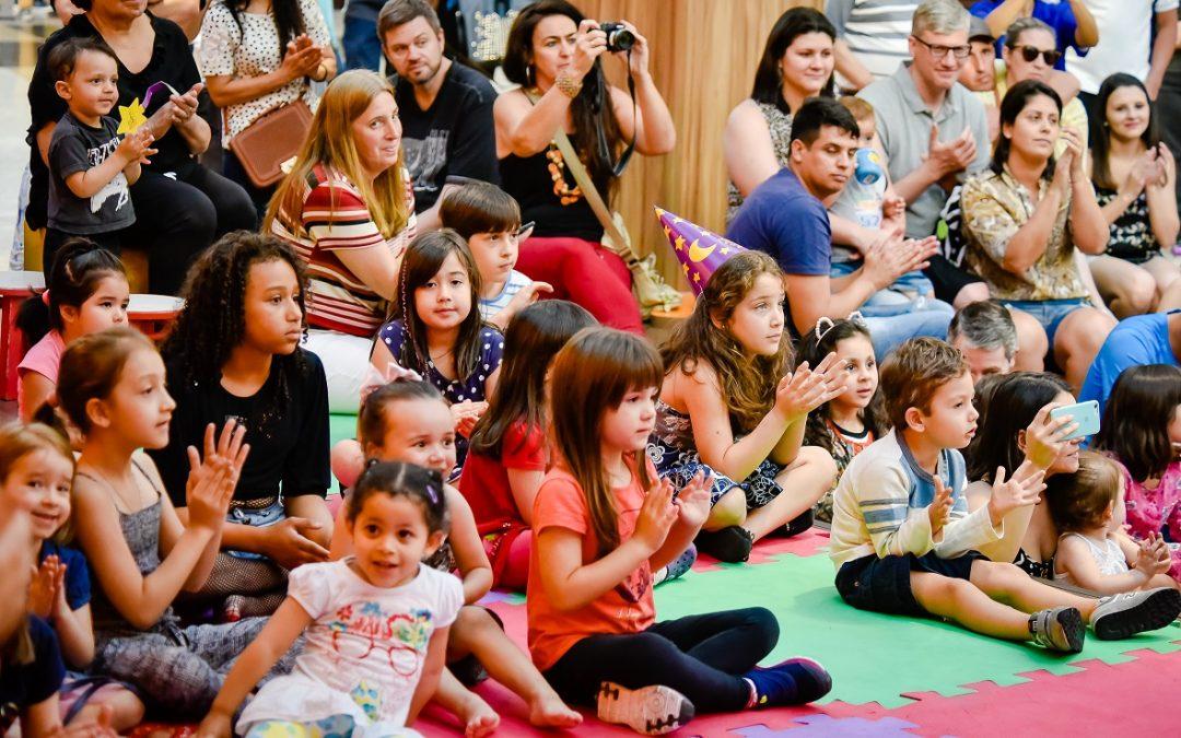 Atrações gratuitas para as crianças em maio