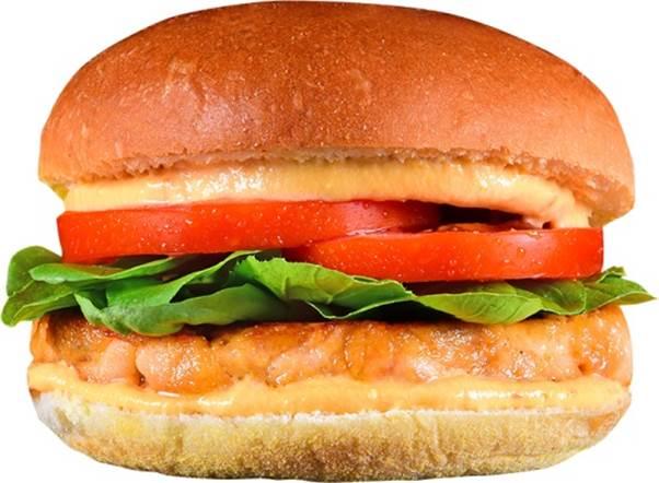 hamburguer de siri