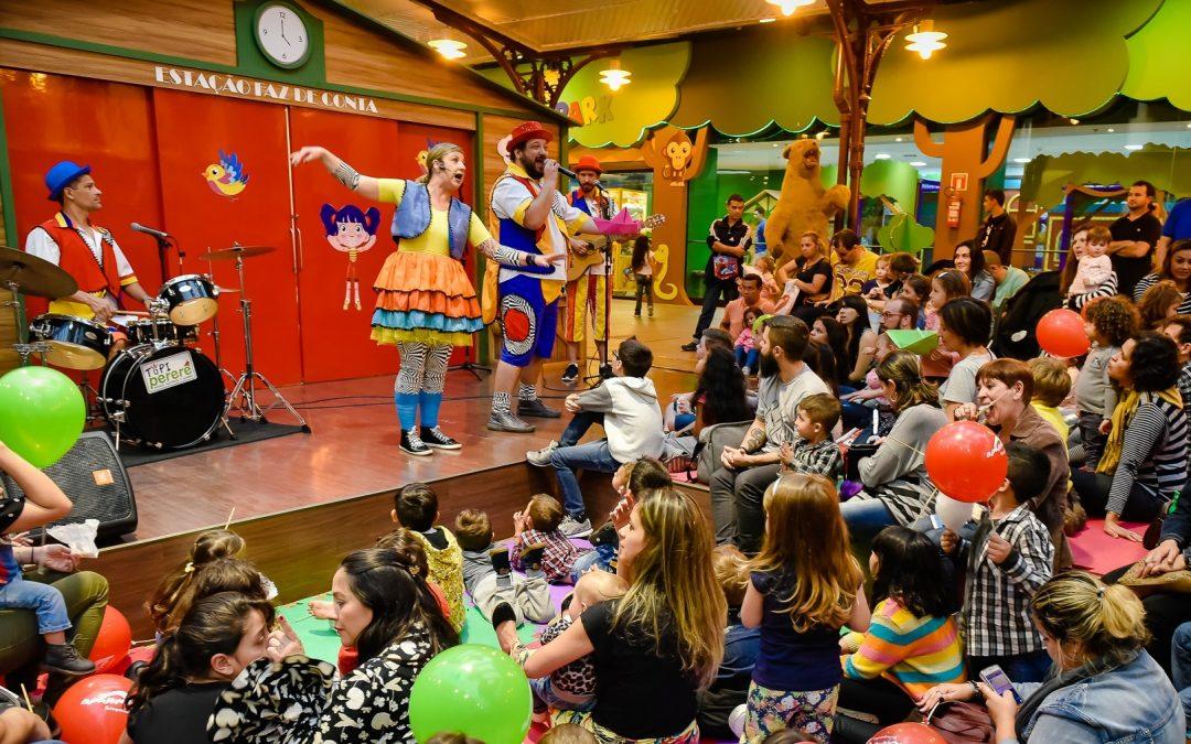 Infantil: musical de rock, show com músicas brasileiras e teatro de bonecos agitam o fim de semana
