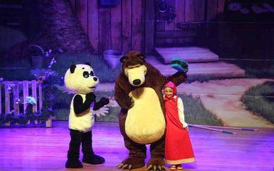 Masha e o Urso Live Show retorna a Curitiba, no Guairão