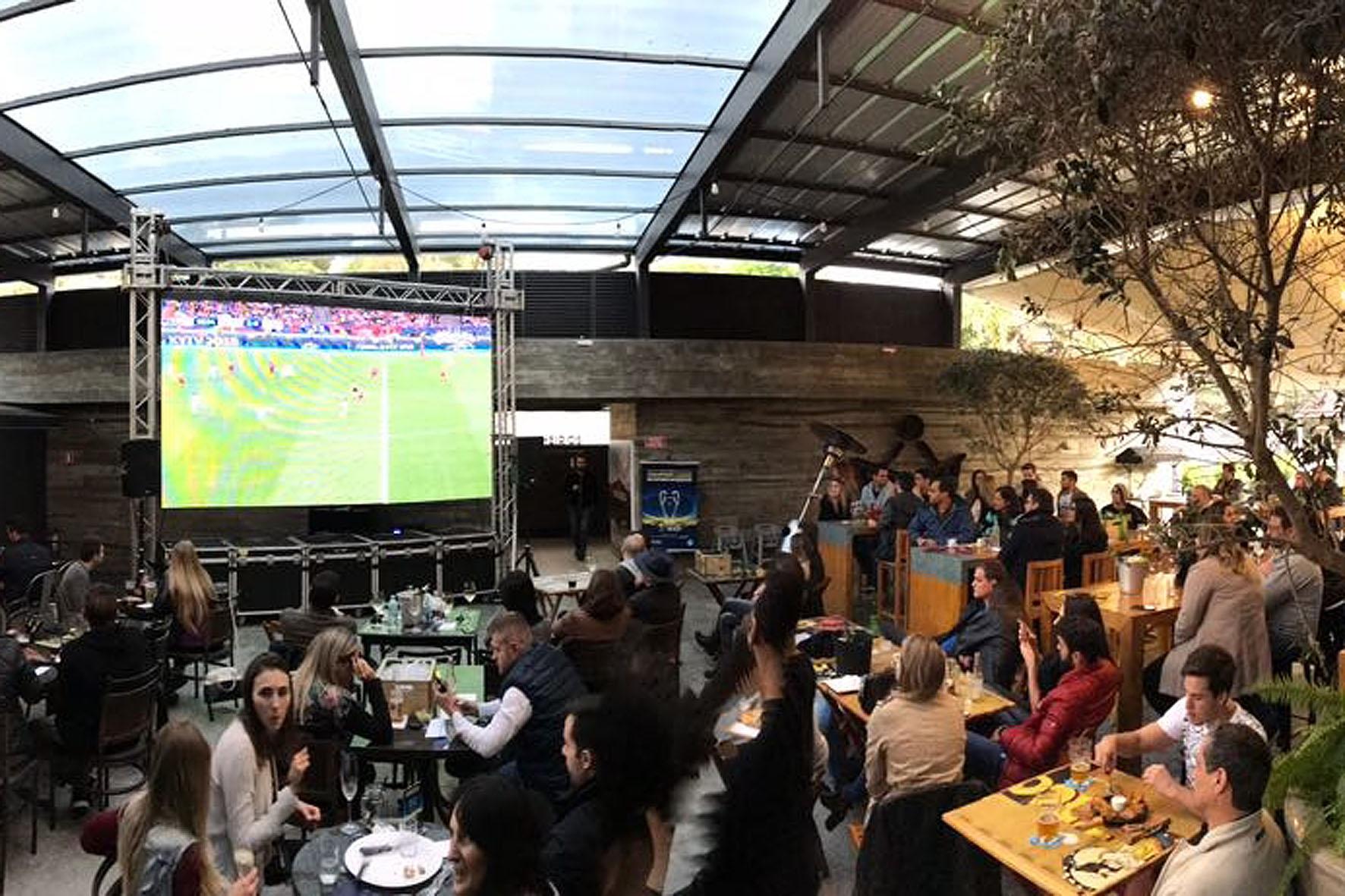 Copa do mundo em Curitiba