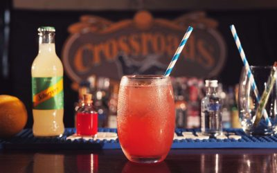 Open de drinks exclusivos da Absolut no Crossroads