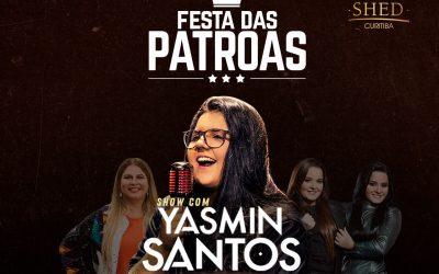 "Yasmin Santos, dona do hit ""saudade nível hard"" na Shed"