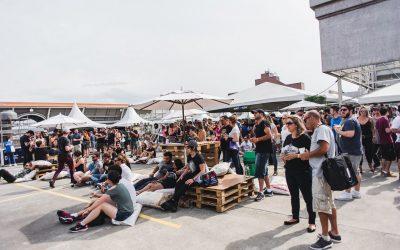 Shopping Estação recebe festa com 80 torneiras de chope e 7 horas de shows