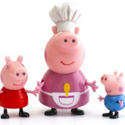 Peppa Pig, George Pig and Granny Pig