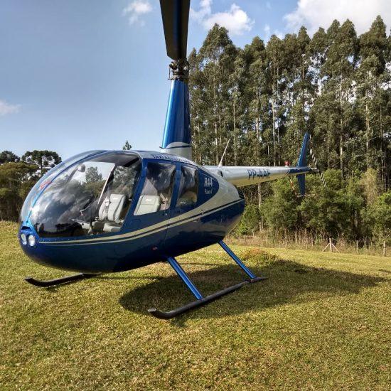 Passeio de Helicóptero Restaurante Frutos da Terra