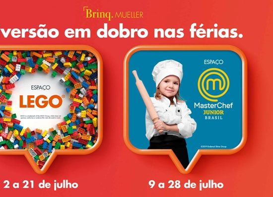 Férias no Shopping Mueller