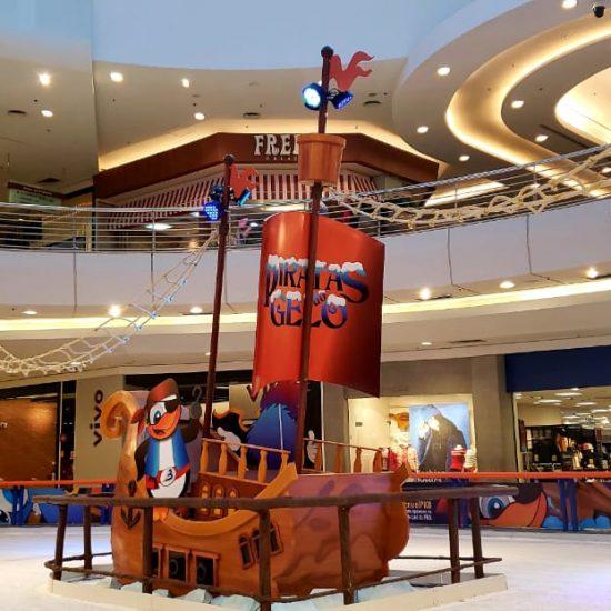 pista de patinação no gelo Park Shopping Barigui