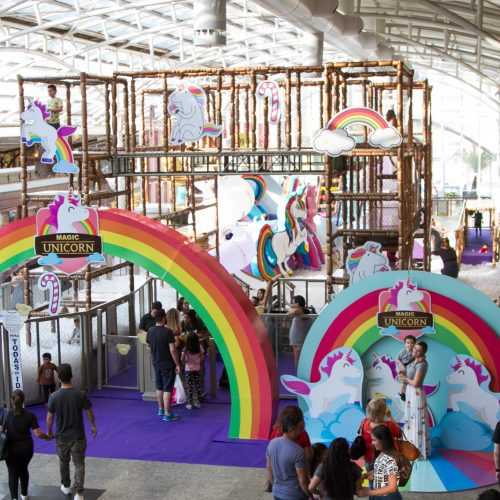 Parque Magic Unicorn Shopping Estação_