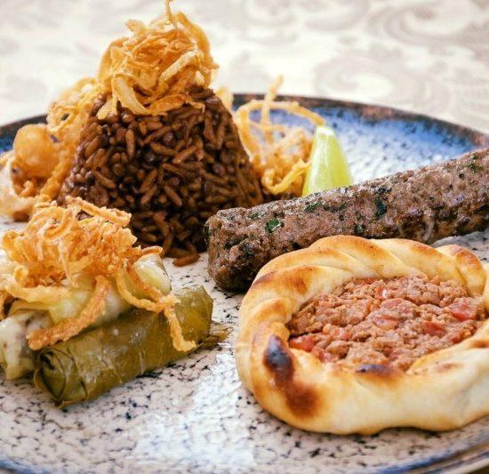 Opcoes de almoco - Nayme Culinaria Arabe