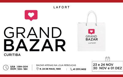 Começa neste final de semana a maior edição do Grand Bazar Lafort