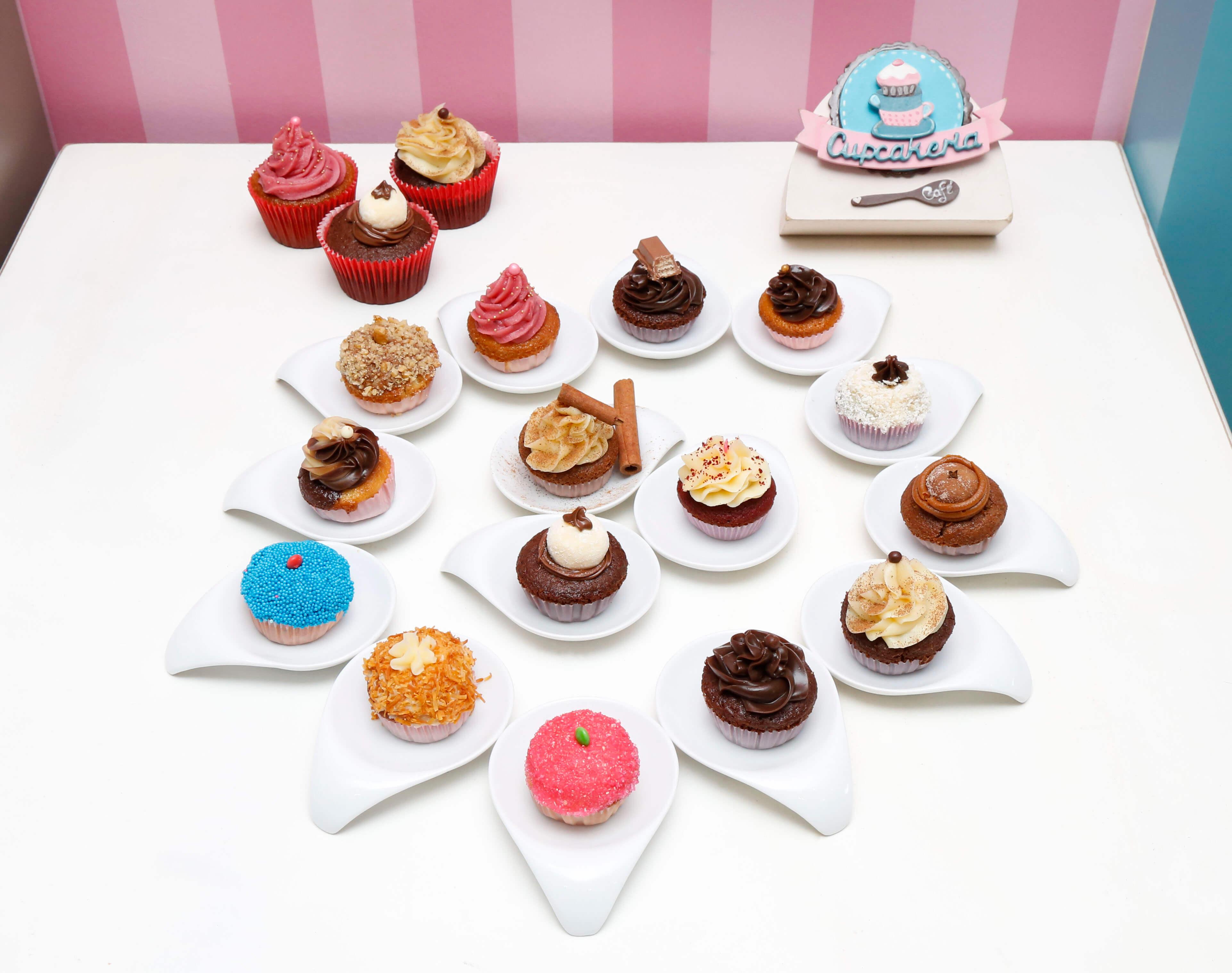 Cupcakeria sabores
