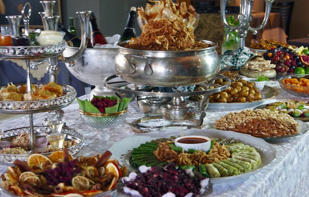 Ceia do Nayme comida árabe