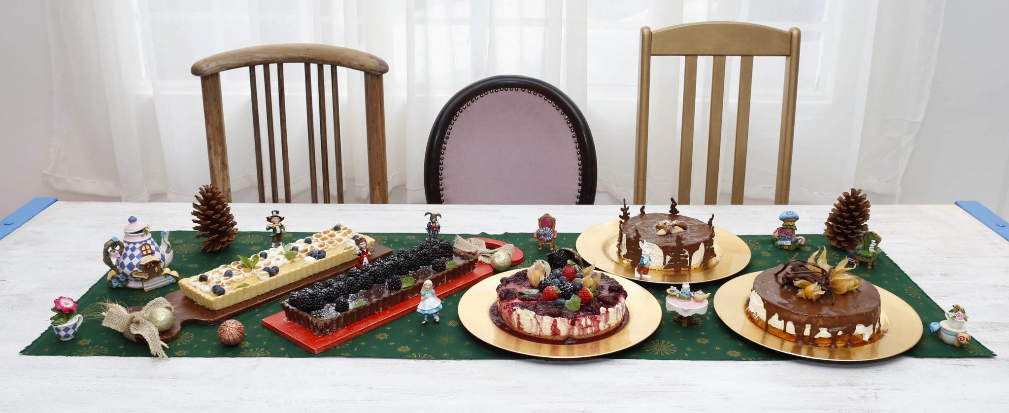Chá com Alice - Tortas Natal-1