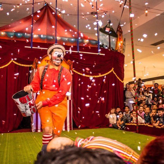 circo no shopping cidade