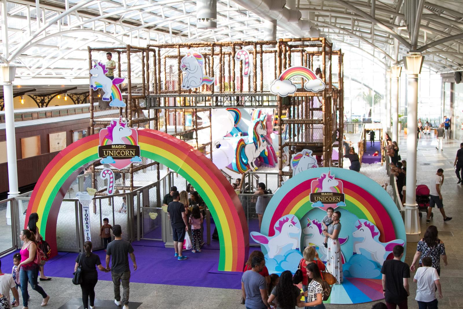Parque Magic Unicorn Shopping Estação_