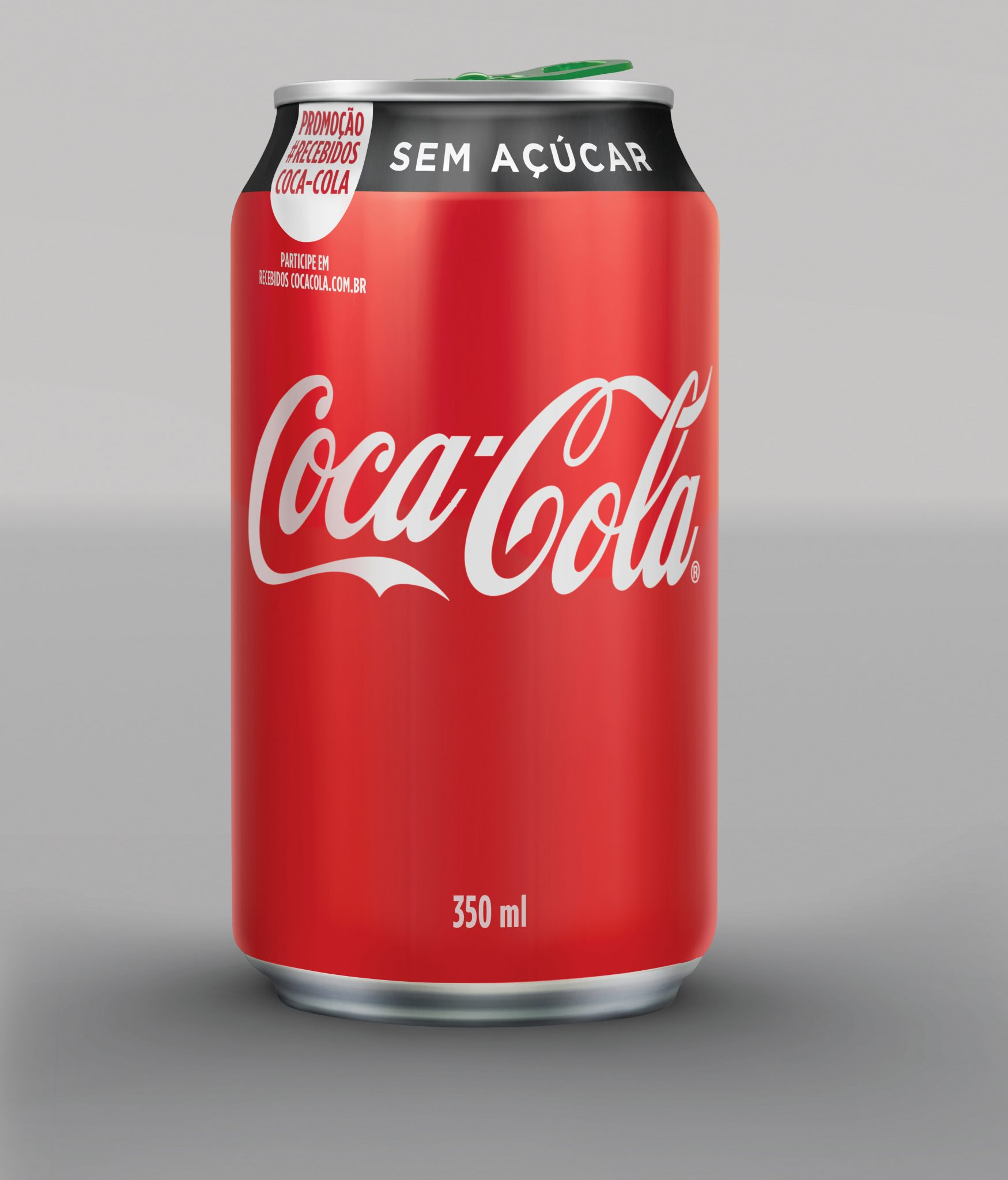 Promo Recebidos Coca-Cola - Anel verde