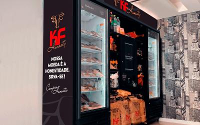 Grupo KF instala geladeiras com carne dentro de condomínios