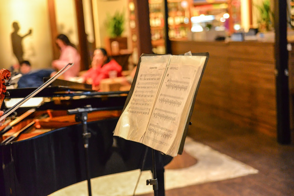 menu musical