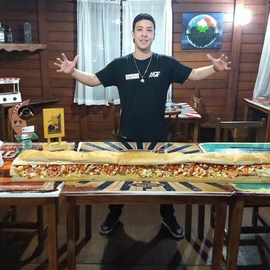 Hot dog de 1,5m