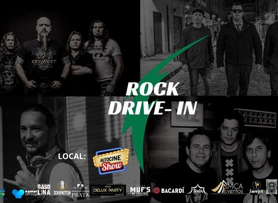 Autocine show traz evento de rock no modelo drive-in