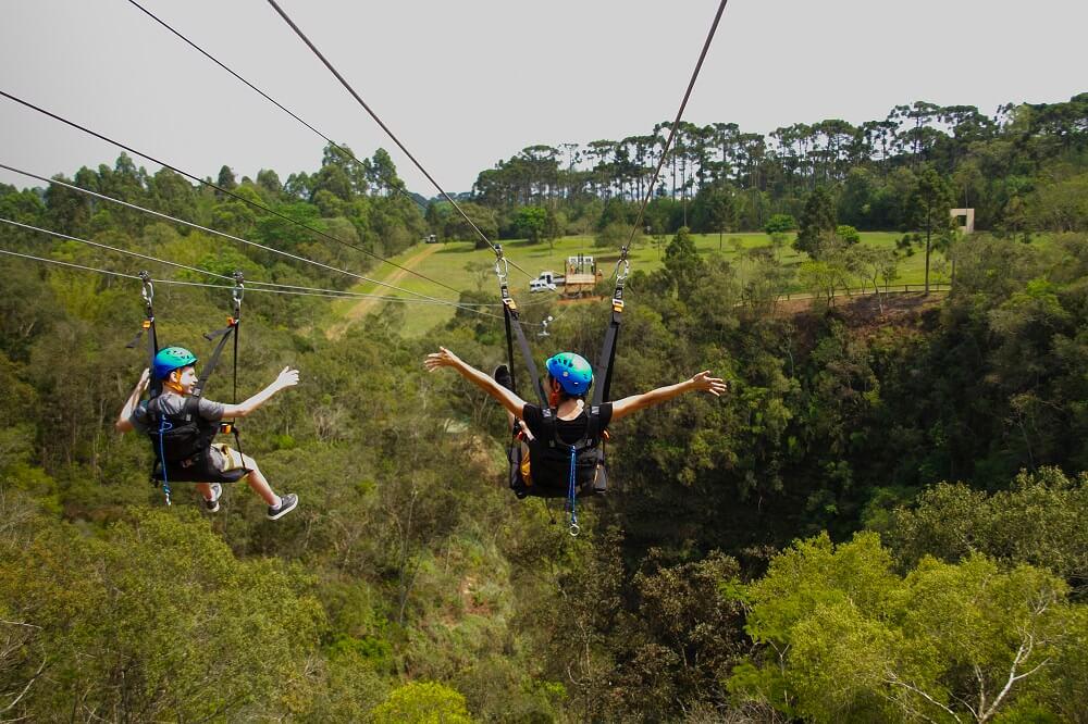 novas atrações do Parque Vila Velha