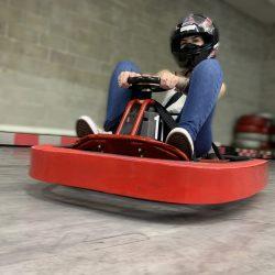 Circuito de Mini Kart no Shopping Mueller _ Foto divulgação