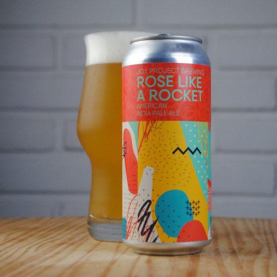 Rose Like a Rocket - uma American India Pale Ale, que aposta na combinação dos lupúos Cashmete, Citra Lupomax e Strata - Cred André Santini