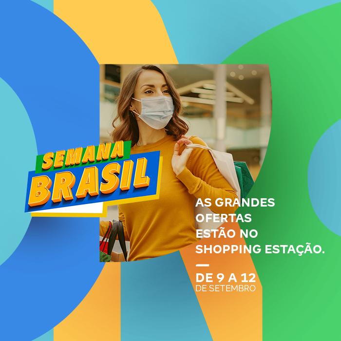 Lojas do Shopping Estação oferecem descontos de até 70% na Semana do Brasil