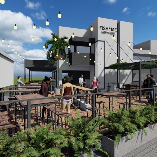 Curitiba vai ganhar casa de peixes e frutos do mar em frente ao Parque Barigui