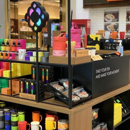 Moncloa Tea Boutique Shopping Estação