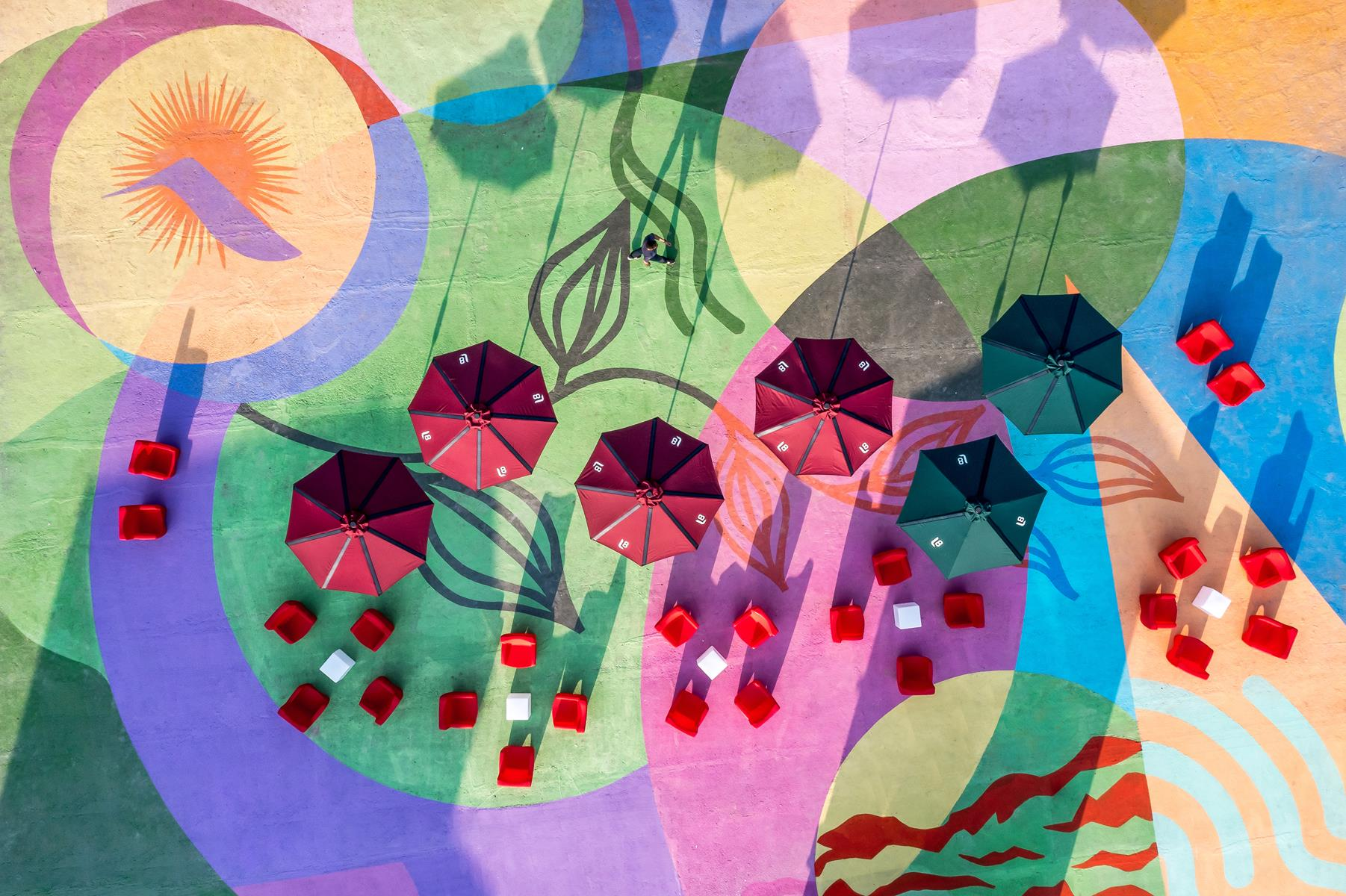 Maior mural do Estado do Paraná está exposto na 27ª edição da CASACOR, em ambiente aberto ao público